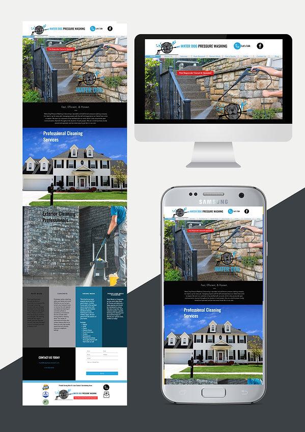 website design web design for pressure washing