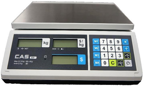 CAS ER JR Price Computing Scale