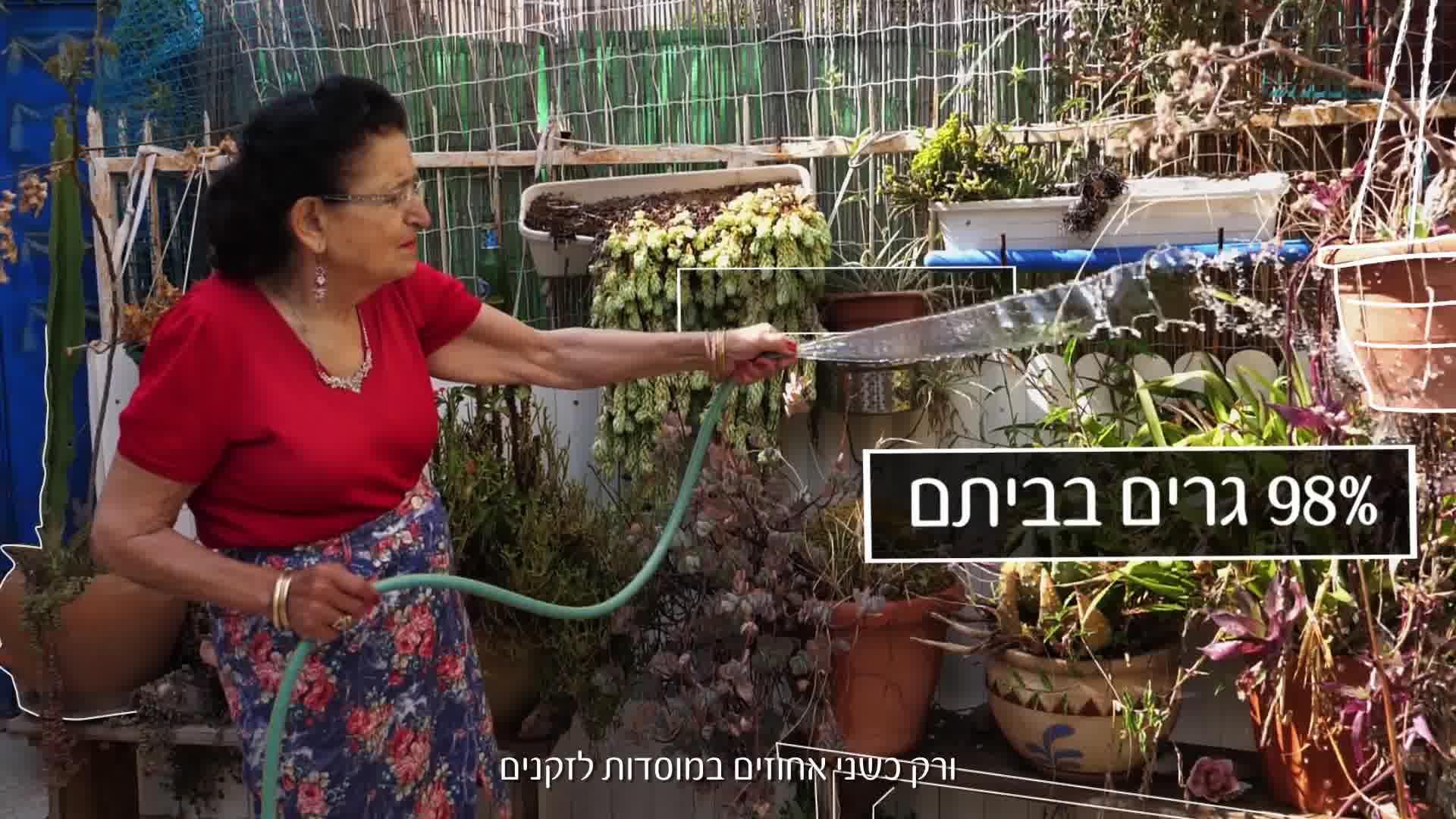 נתונים על בני 65 פלוס בישראל