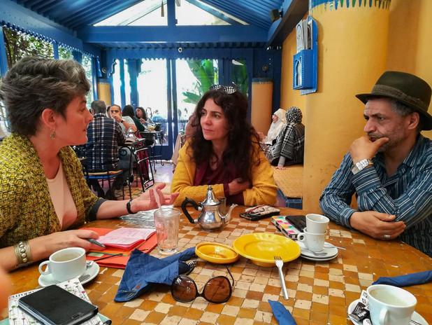 Isabelle Paquet, Karim Troussi et Amal Ayouch