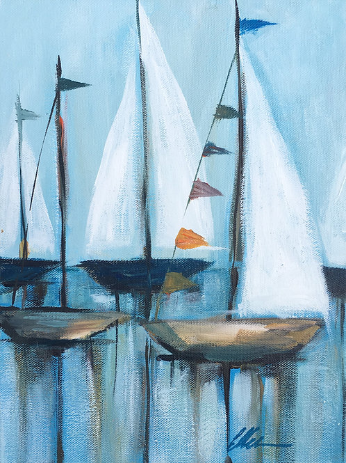 Small sailboats #1