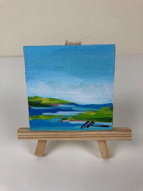 Mini coastal abstract no. 7