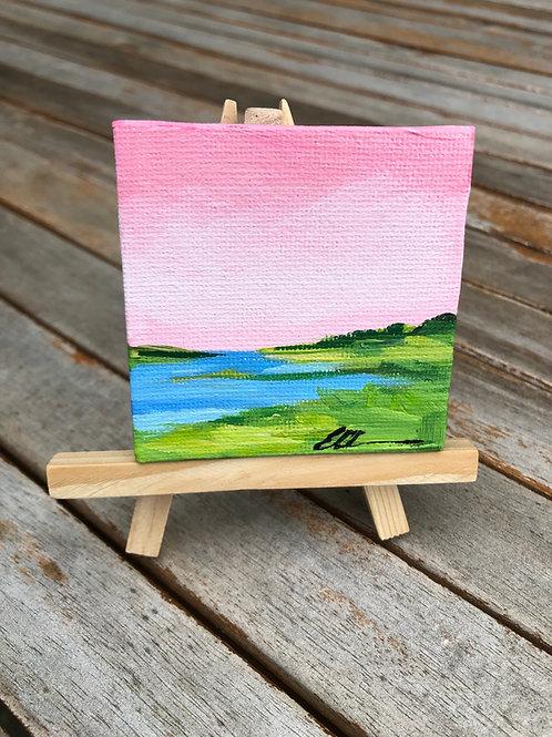 Mini coastal abstract no. 10