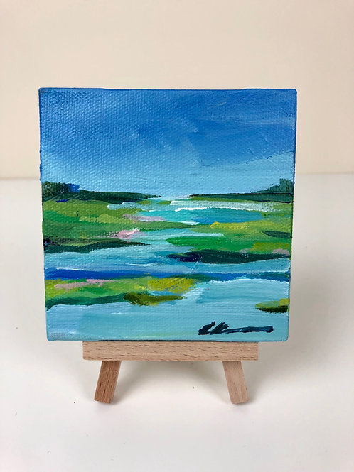 larger Mini coastal abstract no. 15