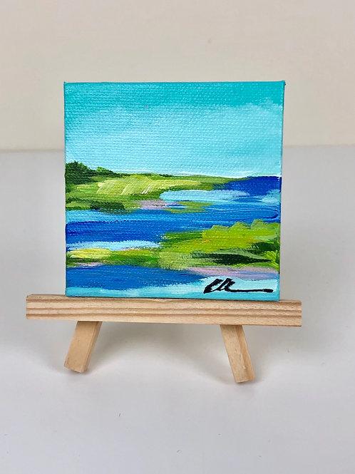 Mini coast abstract no. 6