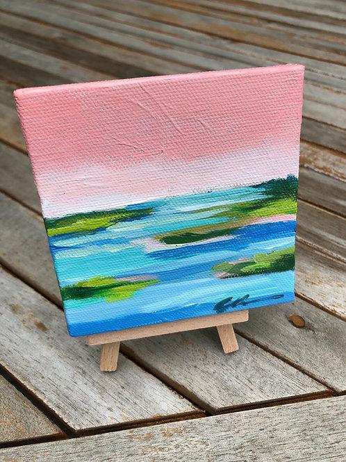larger Mini coastal abstract no. 16