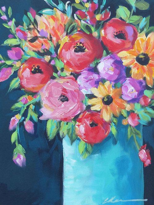 Bright bloom bouquet