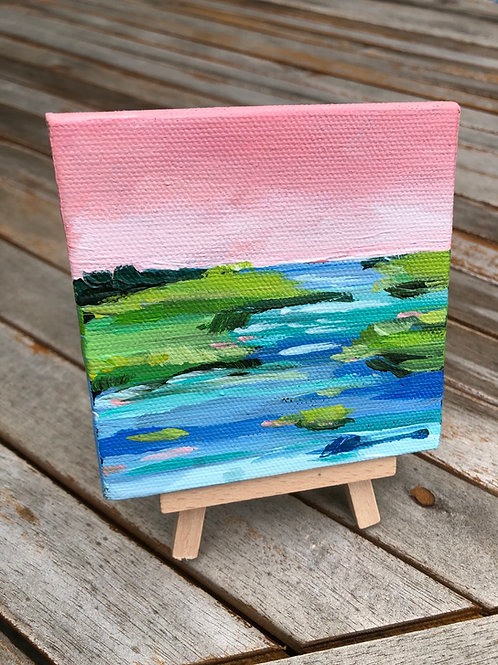 Larger Mini Coastal abstract no. 14