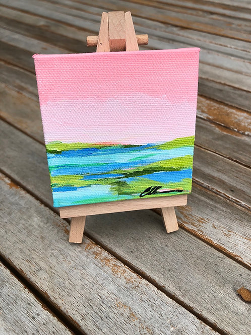Mini coastal abstract no.5