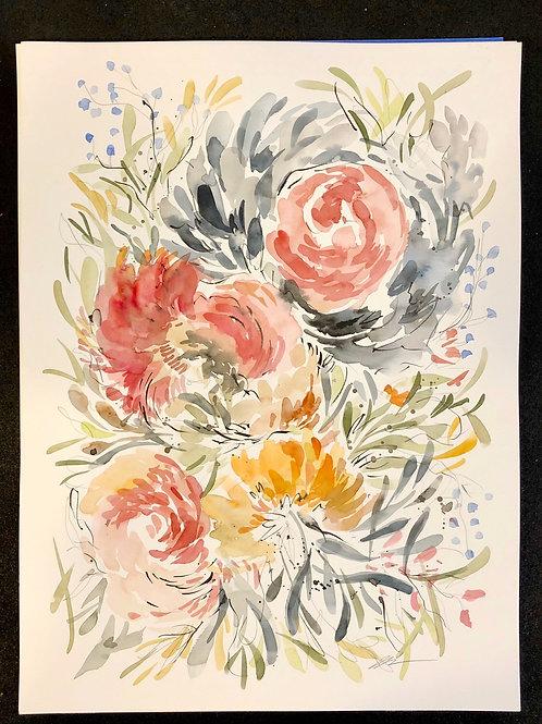 loose big floral