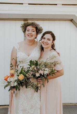 Barn Wedding and Best Friends