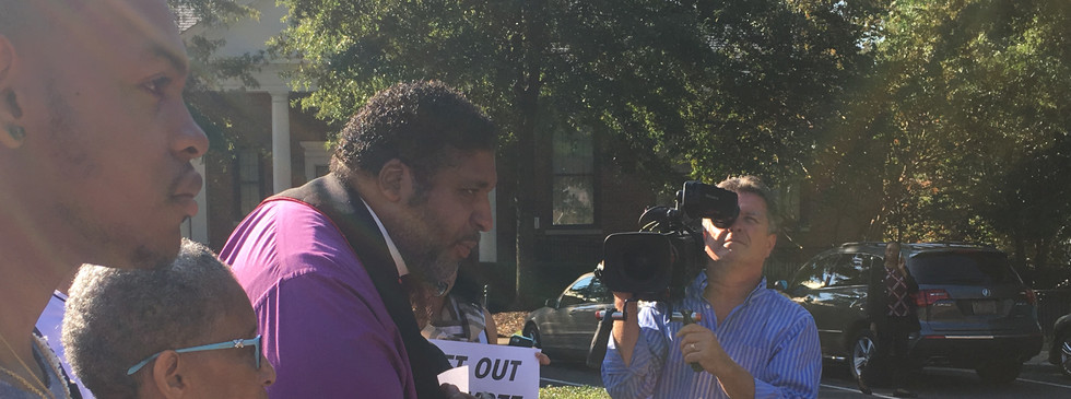 Rev. William Barber II at Rally