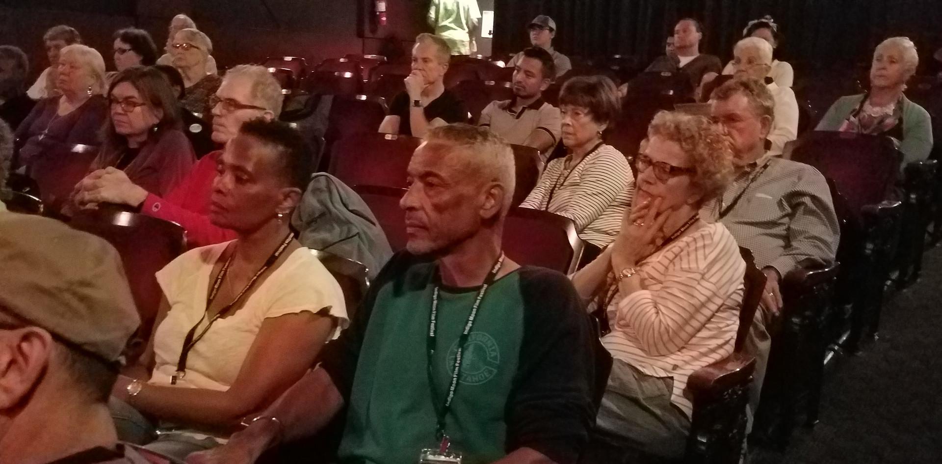 Crowd at Indigo Moon Film Festival