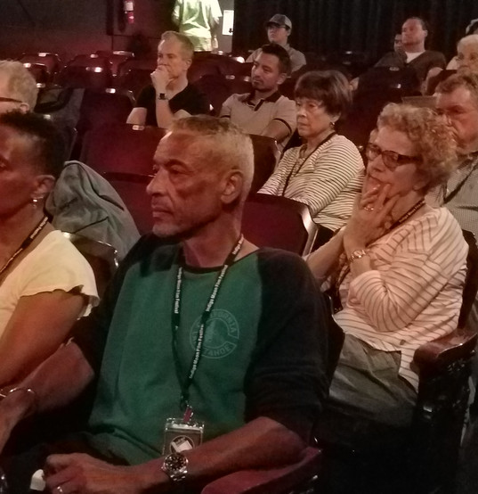 Crowd at Indigo Moon Film Festival