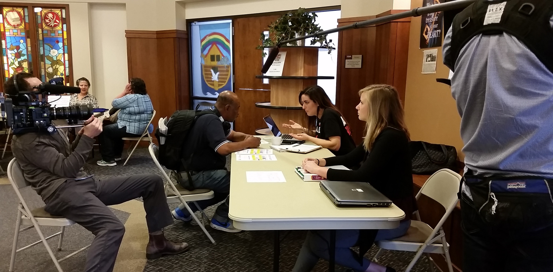 Molly McGrath Working at VoteRiders