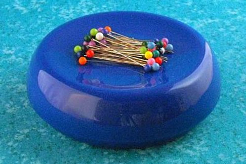 Blue Magnetic Pin Cushion
