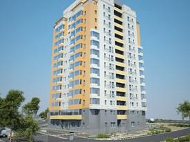 На строительстве первого дома жилого комплекса «Солнечный» завершены огневые сварочные работы...
