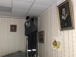 В городе Сыктывкар  на объекте культурного наследия  «Дом печати»  проводятся работы по замене систе