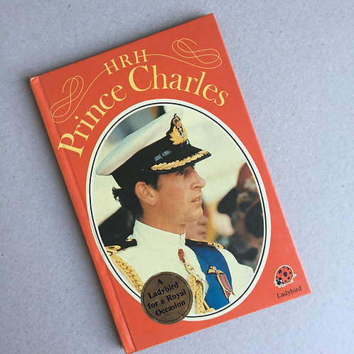 HRH Prince Charles Ladybird Book