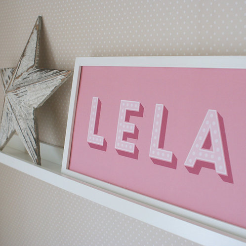 Personalised Name Print