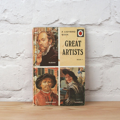 Great Artists Vermeer Rembrandt Rubens