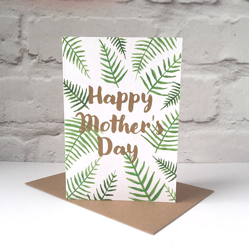 Botanical Mother's Day Card