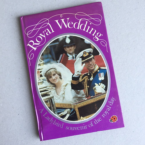 The Royal Wedding (Charles & Di) Ladybird Book