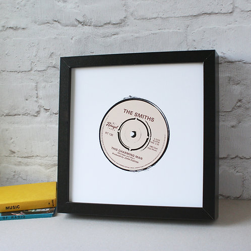 This Charming Man Vinyl Record Art