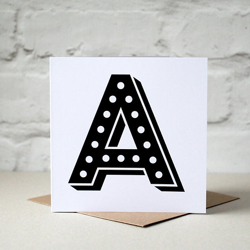 Circus Light Alphabet Cards