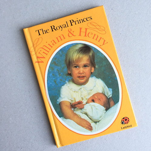The Royal Princes Ladybird Book