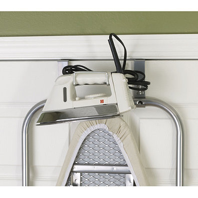 Featuring An Efficient Space Saving Design, The Sleek Over The Door Ironing  Board By Household Essentials® Conveniently Stores The Board Flush Against  Your ...
