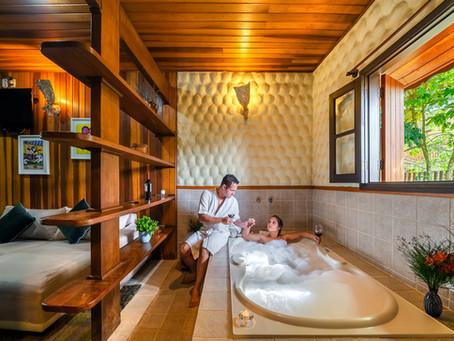 Acomodações com banheira de hidromassagem dupla em Monte Verde?