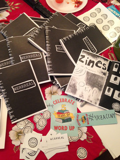 Zine Release at Word Up Bookstore