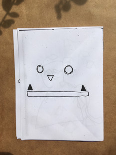 Coloring Book Zine #1 (back)