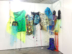 Static Cling / Hang Ups (Installation View), 2016, Javits Center North, New York