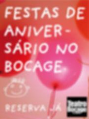 Festas de Aniversário Teatro Bocage