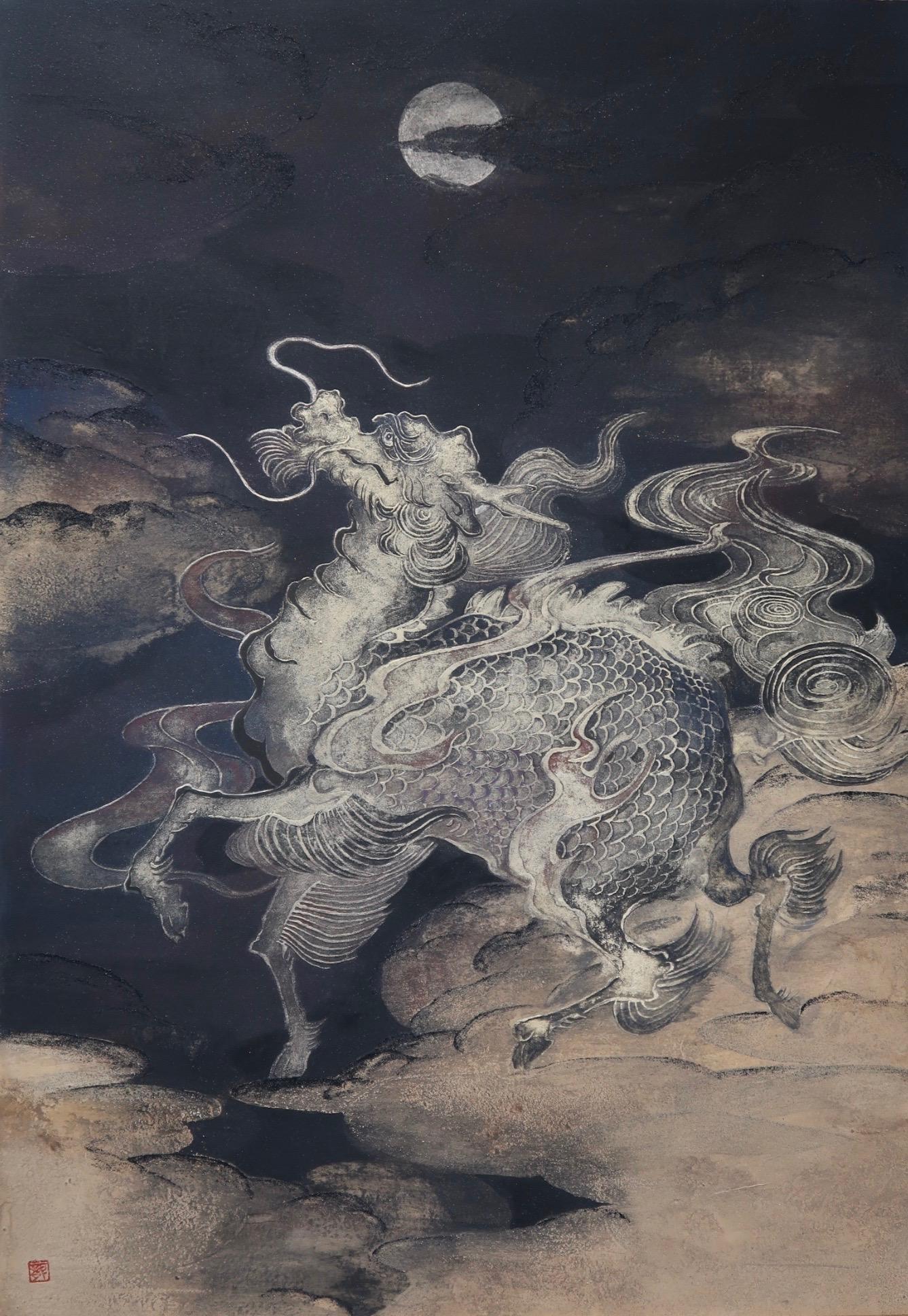 麒麟図 北澤龍