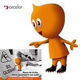 mascotte-Arcelor Mittal