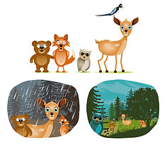 illustrations animaux
