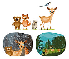 illustrations animaux