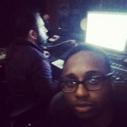 Instagram - Out here working with the legendary @darkbluehmg in the @recroombost