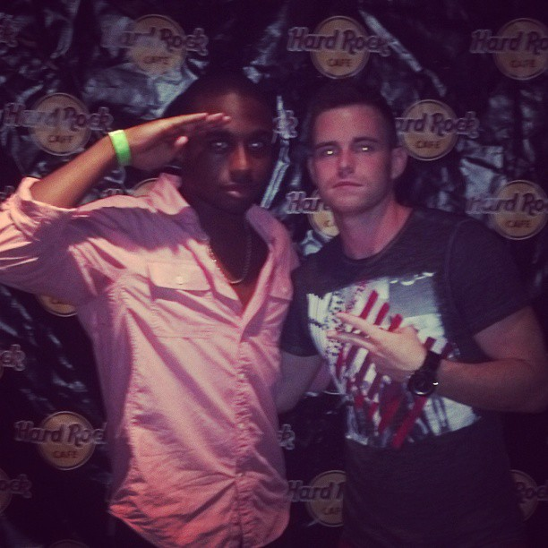 Instagram - At the #hardrockcafe last week with @kiddfamee #music #hiphop #photo