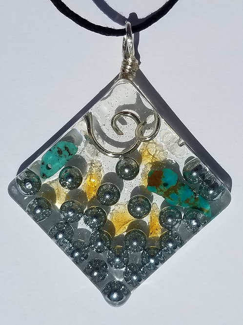 Pendant for Protection, Healing and Stress