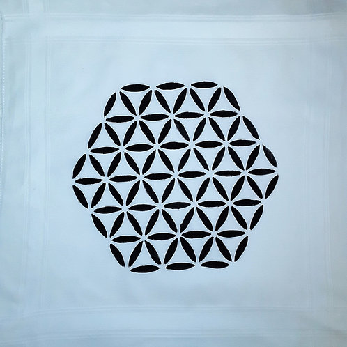Flower of Life Crystal Gridding Cloth