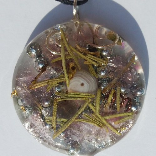 Pendant for Love, Stress and EMF Protection