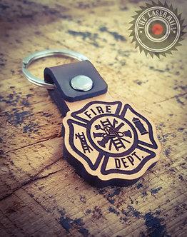 FD - Firefighter Keychain