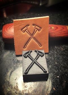 Firefighter Axe leather stamp