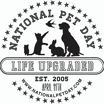National Pet Day - Featuring Pepper the Brat Terrier and Sirius Blackdog