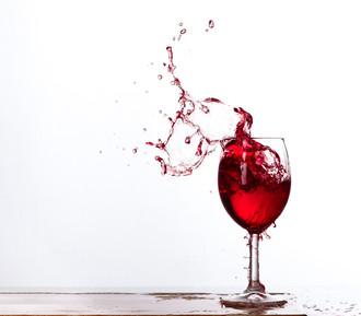 Брызги вина