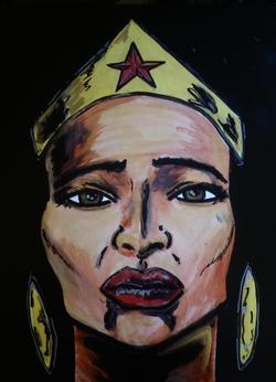 NU'BIA , WONDER WOMAN'S SISTER